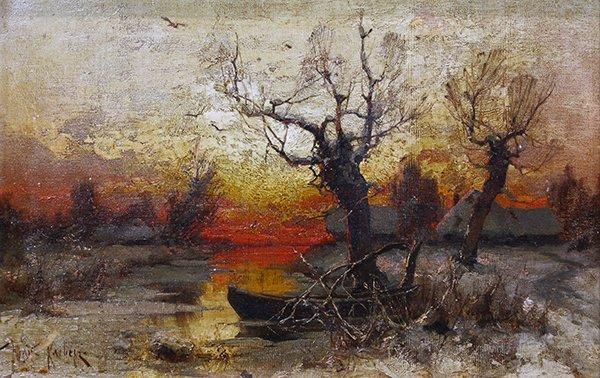 Painting, Honig Krebepz