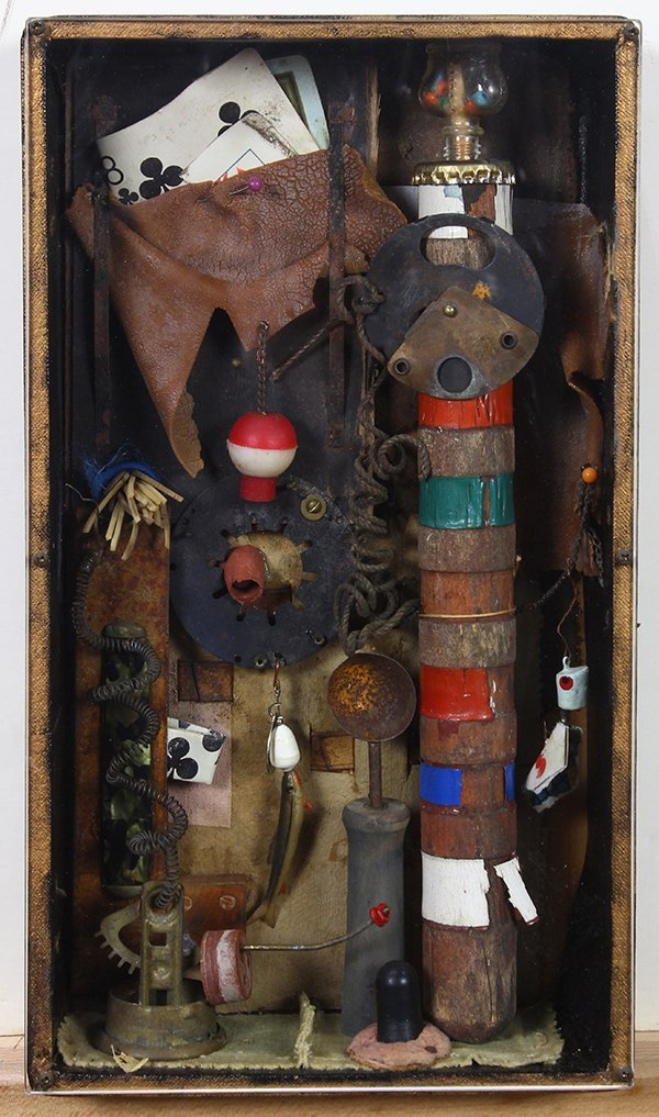 Clare Ernst Struble, mixed media construction