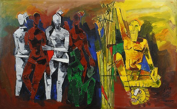 Maqbool Fida Husain, painting