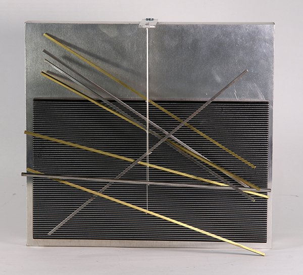 Sculpture, Jesus Rafael Soto, Vibrations Metalliques,