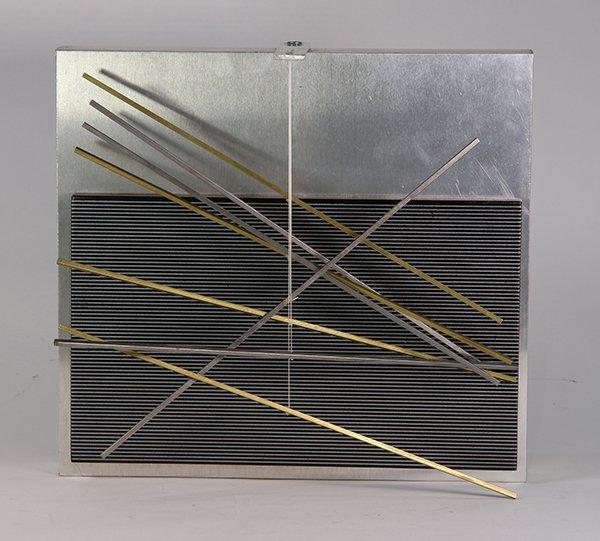 Sculpture, Jesus Rafael Soto, Vibrations Metalliques, - 2