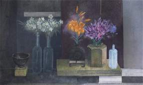 Print, Morris Graves, Evening Light