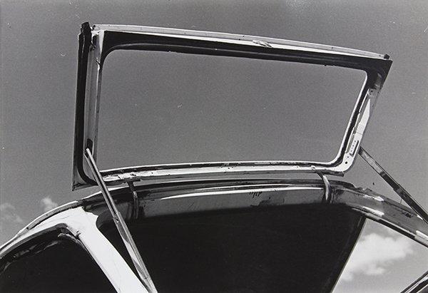 Photograph, Ralston Crawford, Open Station Wagon Window