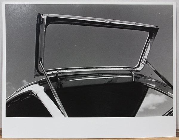 Photograph, Ralston Crawford, Open Station Wagon Window - 2