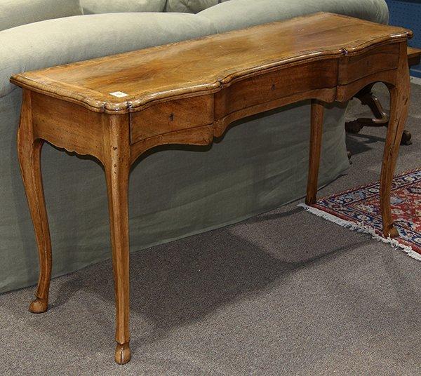 Italian Rococo style console table