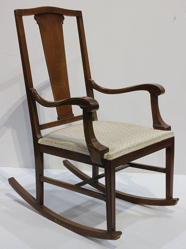 Arthur Mathews Furniture Shops rocker