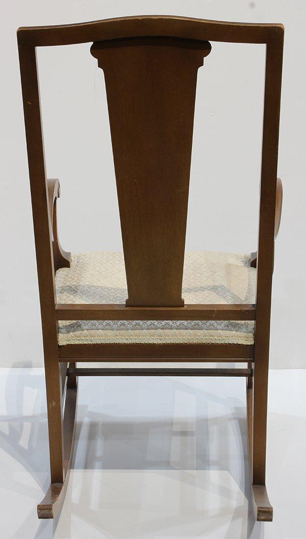 Arthur Mathews Furniture Shops rocker - 4