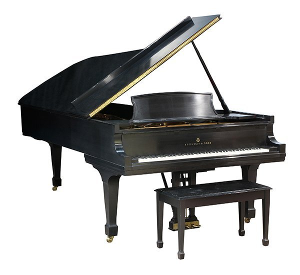 Steinway and Sons New York Model D concert grand piano, - 2