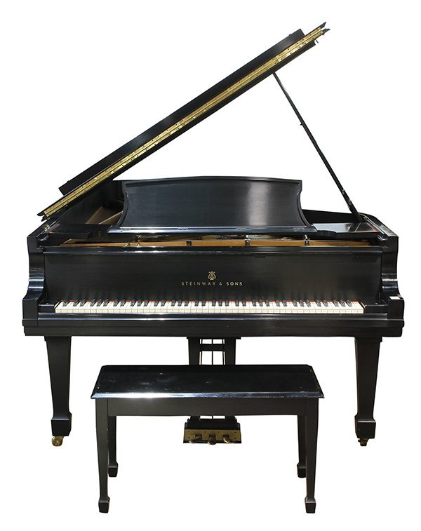 Steinway and Sons New York Model D concert grand piano, - 3