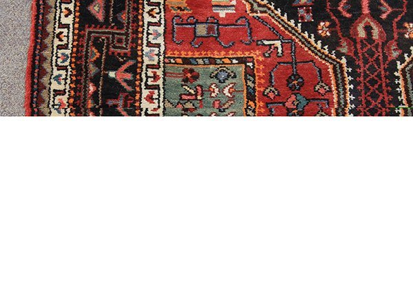 "Persian Jozan hall carpet, 9'3"" x 4'9"" - 2"