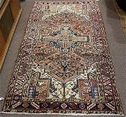 Semi antique Persian Heriz carpet 39 x 7