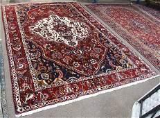 Semi antique Persian Bakhtiari carpet 7 x 103
