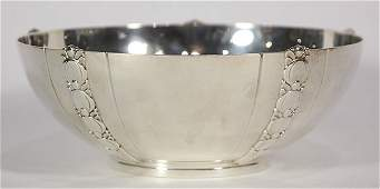 Tiffany  Company sterling silver fruit bowl in the