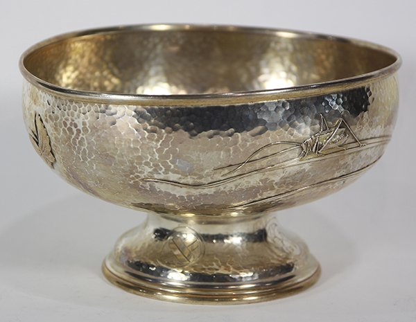 Tiffany & Company sterling silver pedestal bowl, the - 3