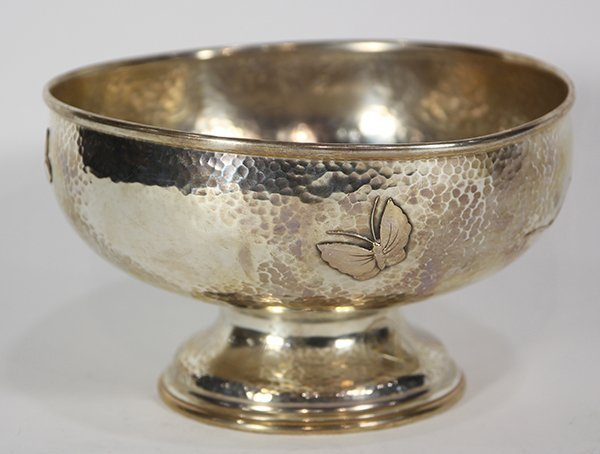 Tiffany & Company sterling silver pedestal bowl, the - 4