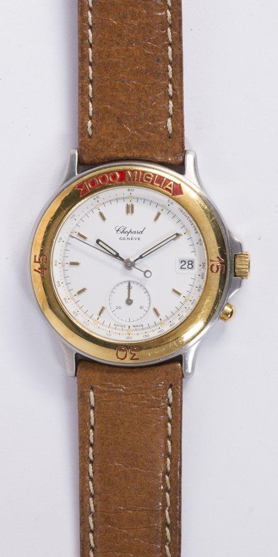 Chopard 1000 Miglia two-tone wristwatch