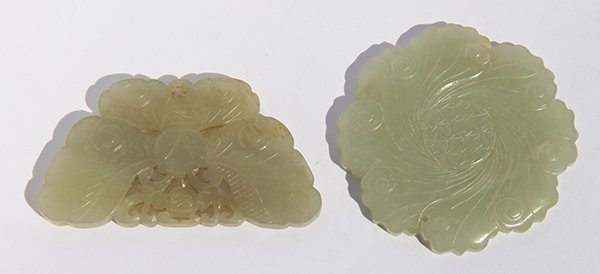 Chinese Jade Flower/Butterfly - 2