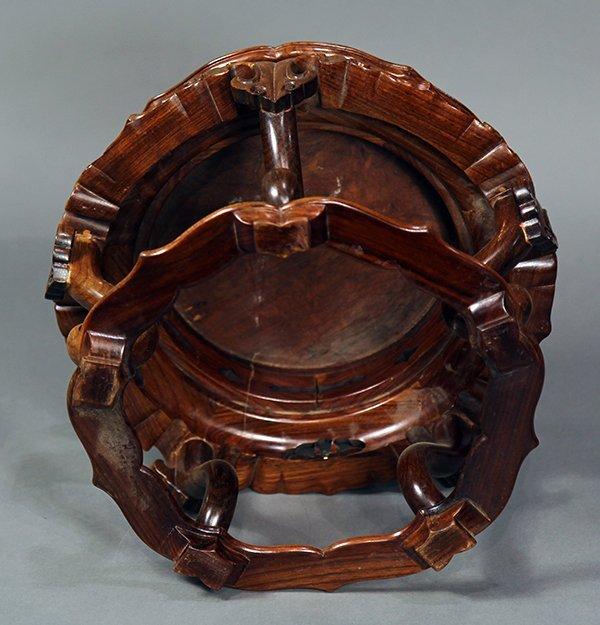 Chinese Porcelain Vase, Goldfish - 9