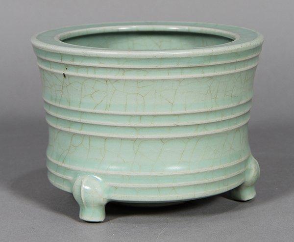 Chinese Longquan Type Censer - 2