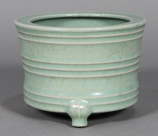 Chinese Longquan Type Censer - 3