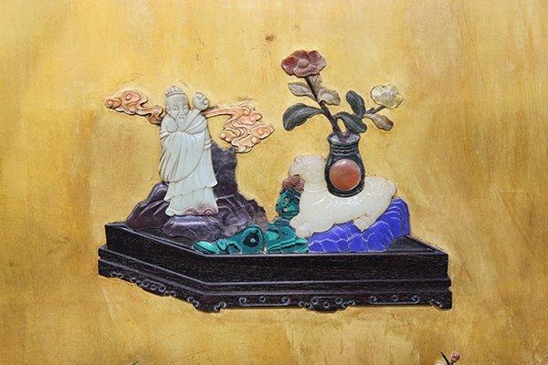 Chinese Wood Panel - 3
