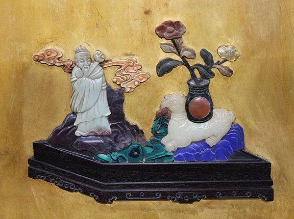 Chinese Wood Panel - 4