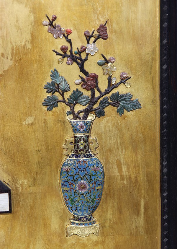 Chinese Wood Panel - 7