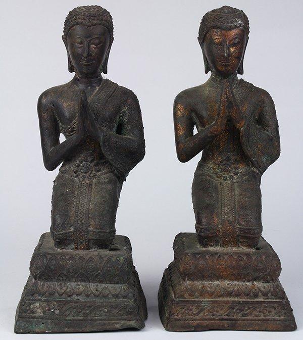 Two Thai Votive Figures
