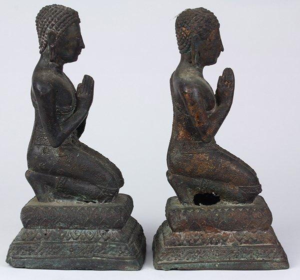 Two Thai Votive Figures - 2