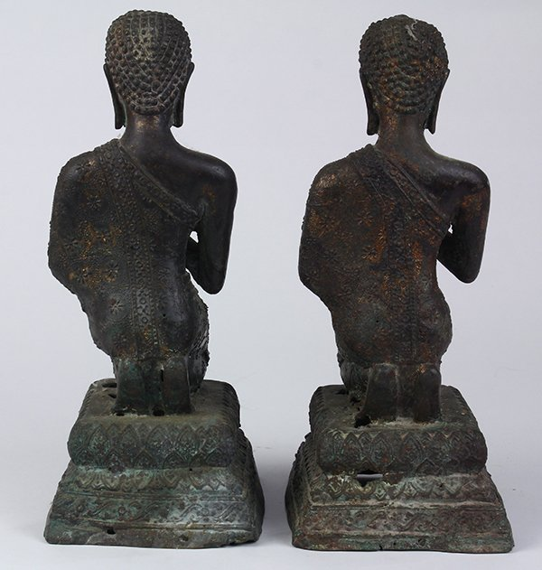 Two Thai Votive Figures - 3