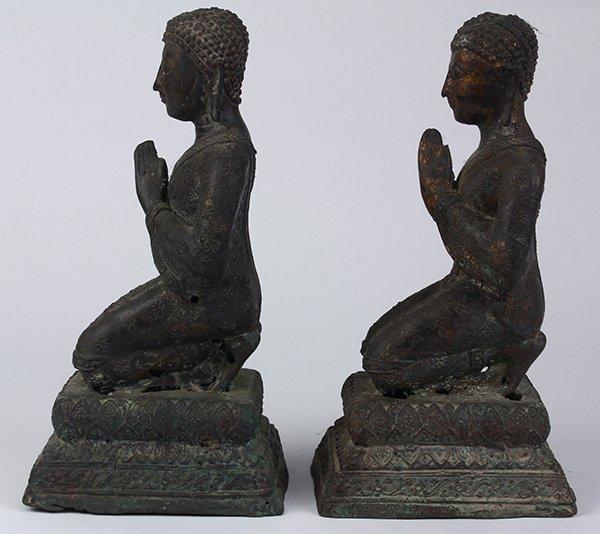 Two Thai Votive Figures - 4