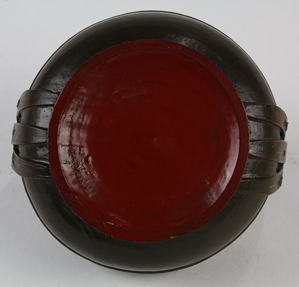 Japanese Buddhist Ceremonial Ekoro Censer, Circular - 10