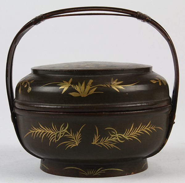 Japanese Buddhist Ceremonial Ekoro Censer, Circular - 6
