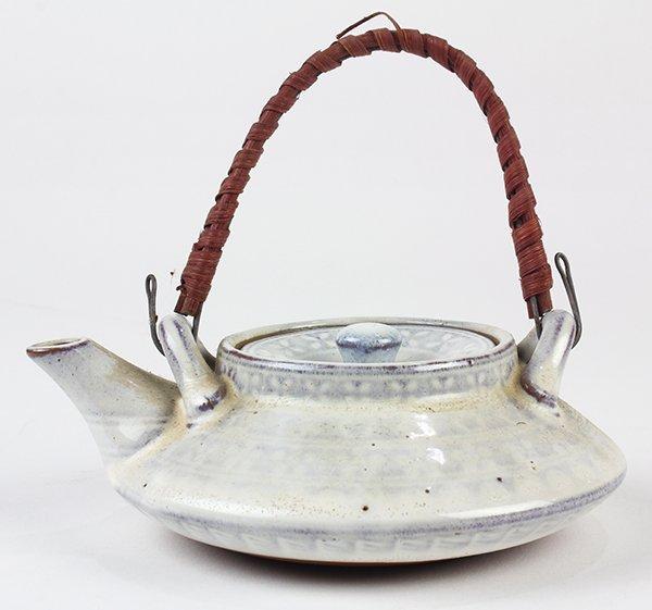 Japanese Ceramic Sake Servers/Teapots, Cups, Dishes - 4