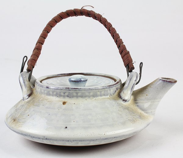 Japanese Ceramic Sake Servers/Teapots, Cups, Dishes - 6