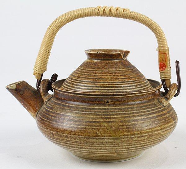 Japanese Ceramic Sake Servers/Teapots, Cups, Dishes - 8