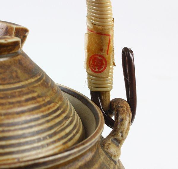 Japanese Ceramic Sake Servers/Teapots, Cups, Dishes - 9