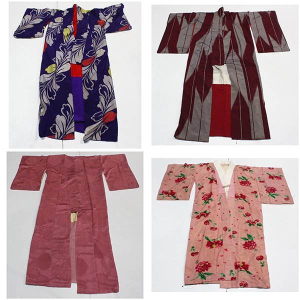 Japanese Silk Kimonos