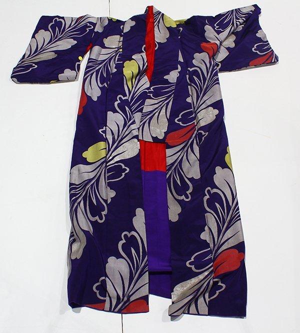 Japanese Silk Kimonos - 2