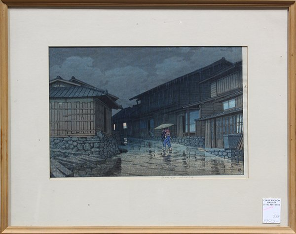 Japanese Woodblock Print, Kawase Hasui - 2