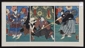 Japanese Woodblock Prints Utagawa Toyokuni III 19c