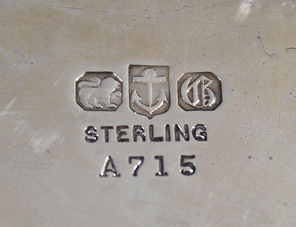 Gorham sterling silver entrée serving bowl, 1898, set - 2