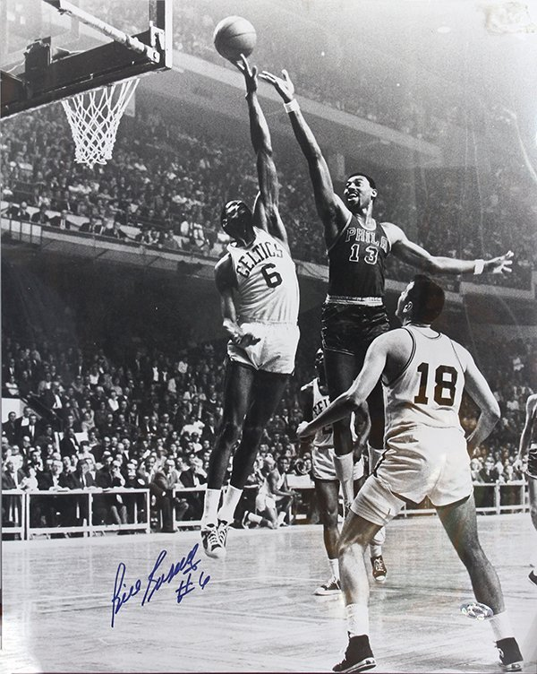 National Basketball Association autographed Bill