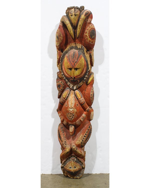 Abelam Papua New Guinea carved figure, early 20h
