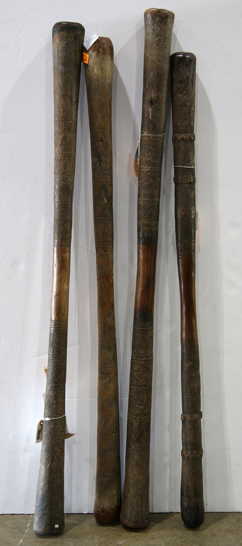 (lot of 4) West Africa, Dogon, Mali, old wooden
