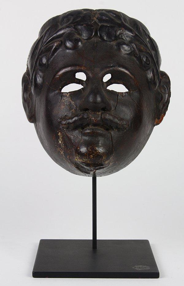 Guatemalan fine old dance mask