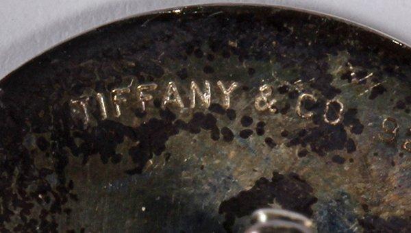 (Lot of 2) Tiffany & Co enamel, sterling silver - 2