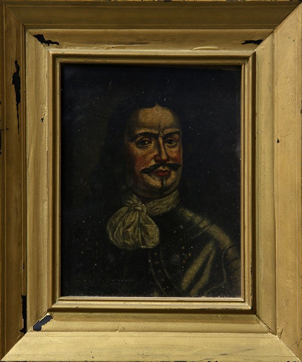 Painting, Portrait of a Spanish Soldier