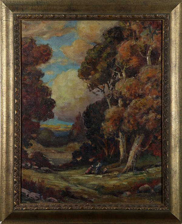 Autumn Wooded Landscapes, paintings - 2