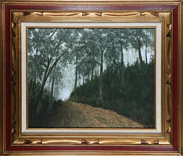 Bud Gutman, painting